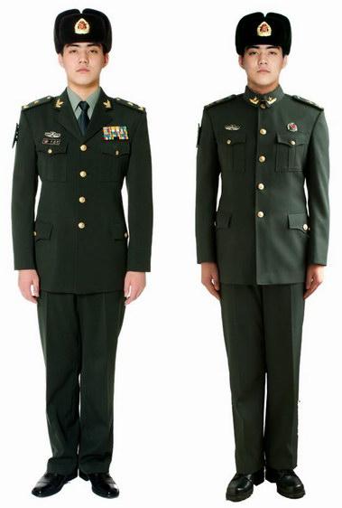 07式陆军春秋常服与冬常服区别图片