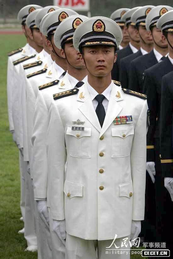 07海军春秋常服图片