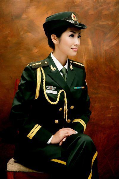 07式军官礼服 图片大全