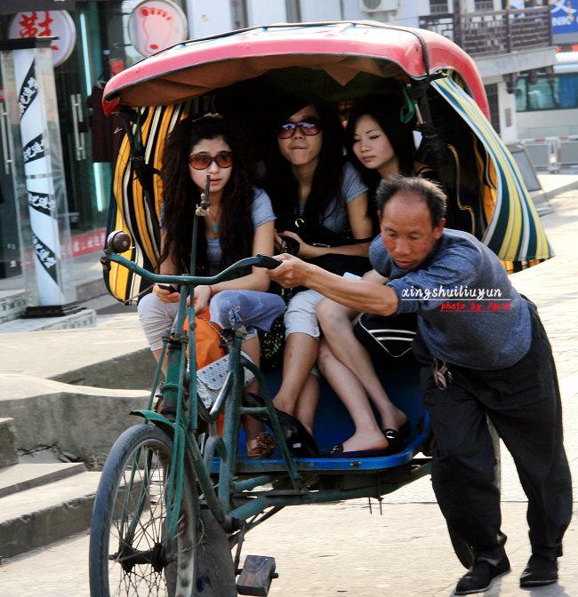 车夫和游客 -2009 中国记忆