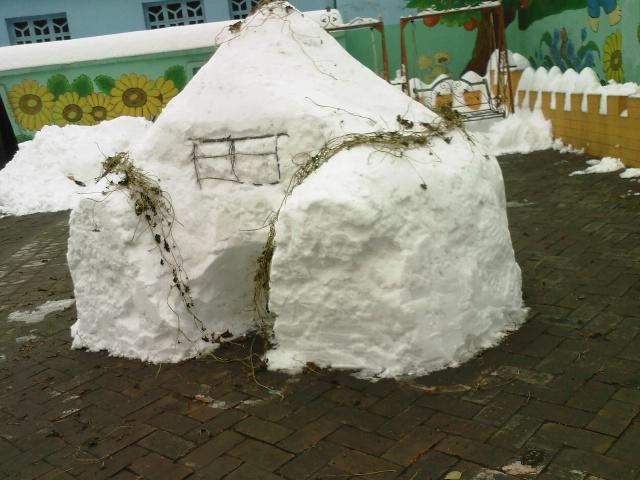 雪房子_我的雪中生活·網友照片征集