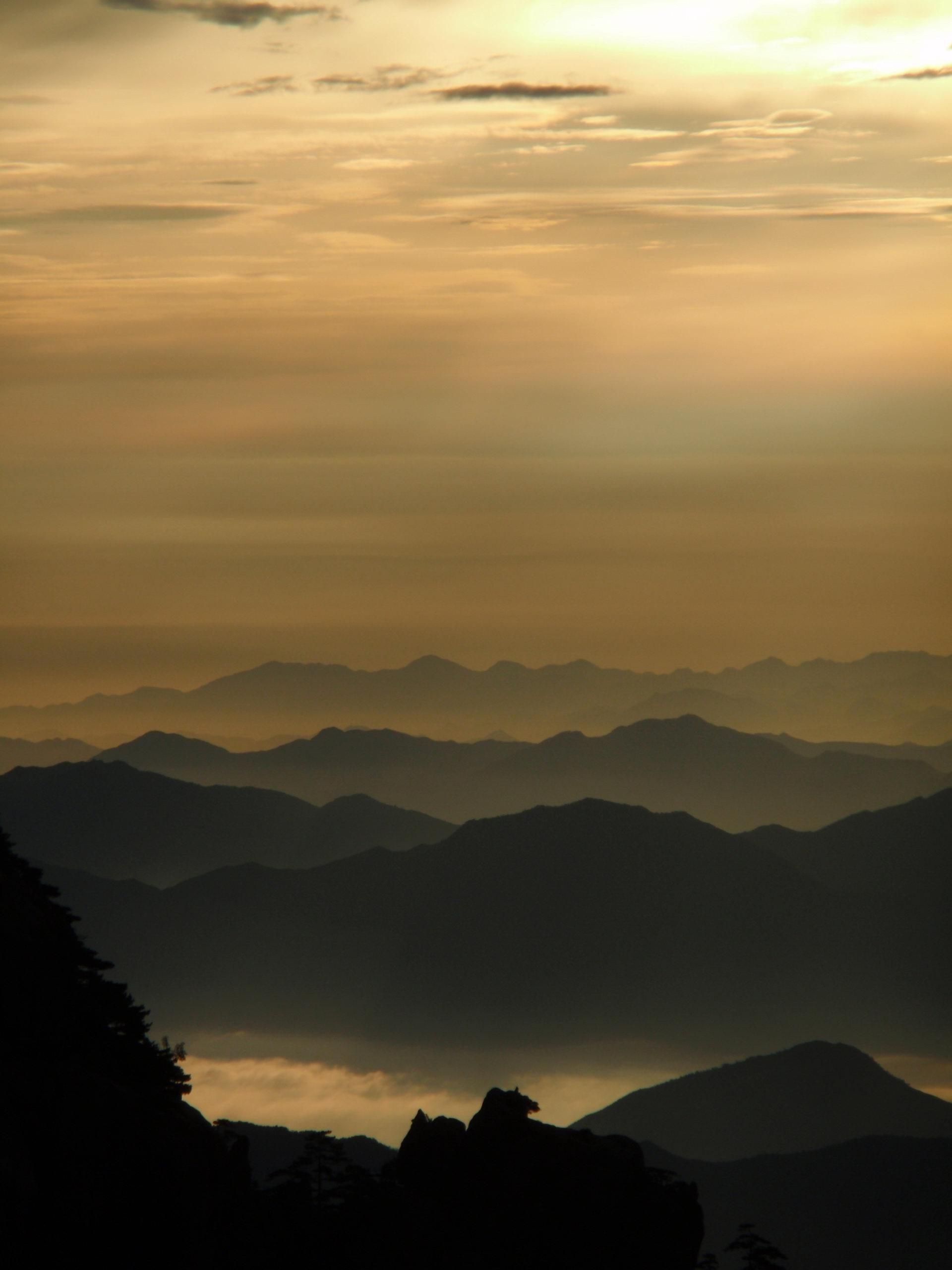 中国清晨风景手机壁纸