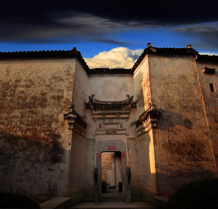 标题:老宅; 风景油画 乡村故事设计图_风景设计图,我的世界城堡设计图
