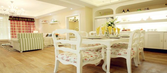 哈韩是不错的 淡雅温馨的韩式风格两居室
