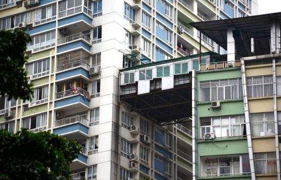 盘点2014年违章建筑:武汉空中花园和鸟笼建筑上榜
