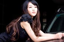著名车模 腾讯汽车宝贝 郭艳