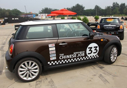 2010 MINI中国任务 体验好莱坞飞车特技_腾讯车周刊_腾讯汽车