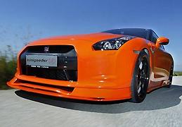 Koenigseder改装橙色版GT-R 9.8秒破200公里/小时_腾讯车周刊_腾讯汽车