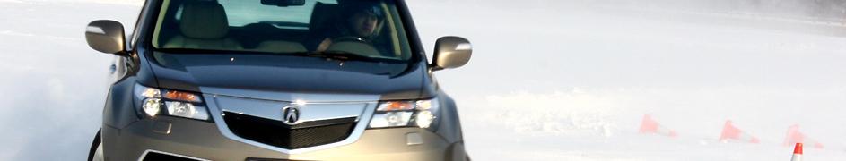 绽放雪地激情 冰雪试驾讴歌MDX尊享运动版_车周刊_腾讯汽车
