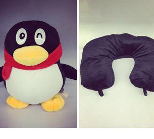 企鹅变形颈枕