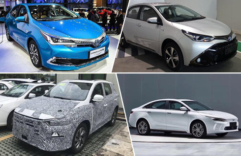 新能源车换代就是快?近期6款新车型信息汇总