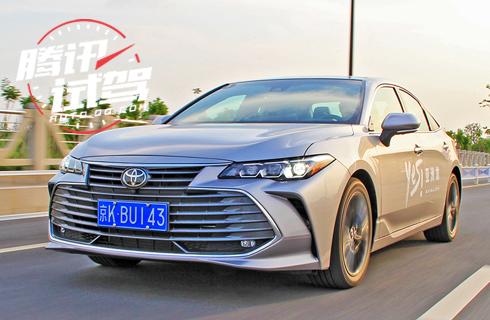 TNGA带来的操控旗舰 试驾丰田亚洲龙汽油版
