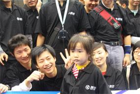 2009广州车展千人看车团神秘的团员