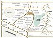 山水・四季城地址示意