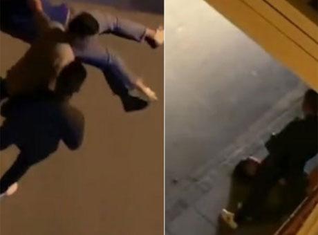 四川女子街头被人殴打 警方:二人是夫妻均已到案
