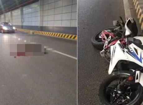 南充17岁小伙无证驾驶摩托搭人 撞上墙体双双殒命