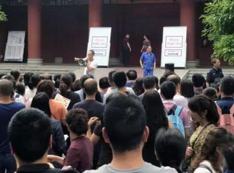 万名学生参加成都名校自主招生考试 争500余个名额