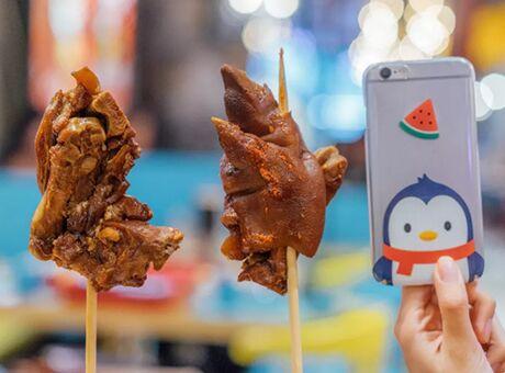 中秋国在成都春熙路吃网红串串 1.9折吃全场