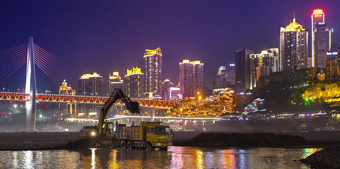 揽江唱晚-摄:杨文