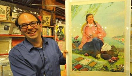 美国旧金山举办古旧书展 中国文物备受瞩目