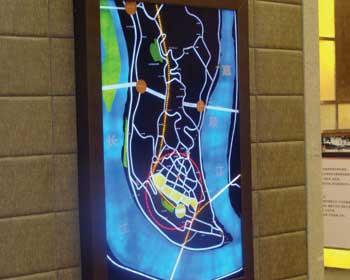 迪拜塔公园 功能区域分析图