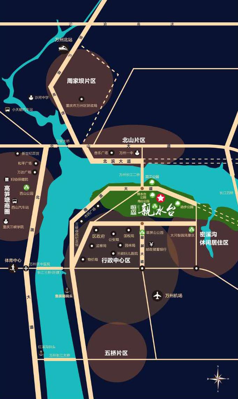 【恒森•親水台】开启万州高端品质人居新体验