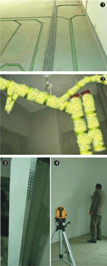 室内照明电路仿真系统