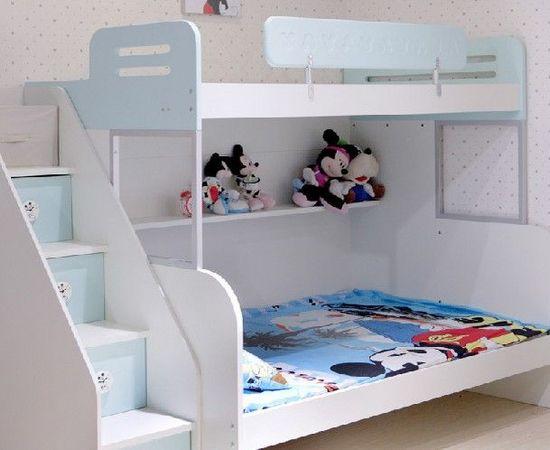 高低儿童卧室家具