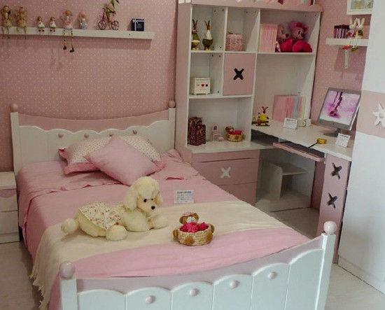 儿童家具套房组合烤漆单人1.2公主床.-空间大利用 15款爆款小户型儿