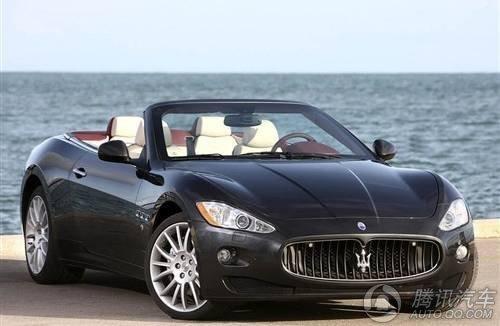 玛莎拉蒂GranCabrio车展上市 268万起售