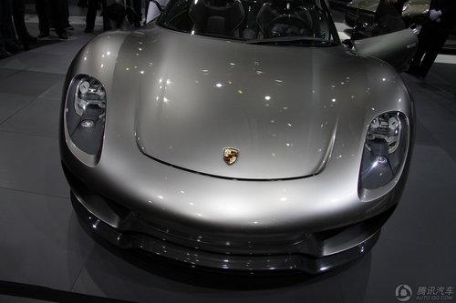 [新车解析]高性能跑车 保时捷918 Spyder