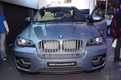 全新BMW混合动力X6
