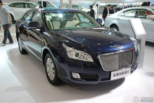[新车解析]华泰首款中级车 元田B11亮相