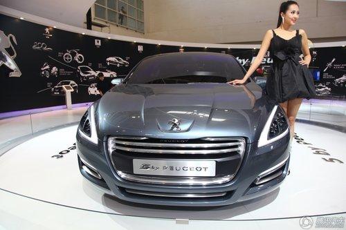 [新车解析]508雏形 标致5 By Peugeot