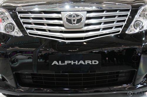 丰田Alphard左舵版