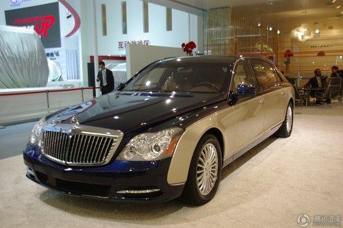 [新车解析]奢侈座驾 改款迈巴赫全球首发