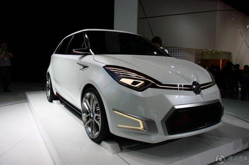 [新车解析]预计10月投产 名爵MG2车展亮相