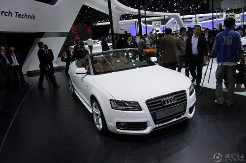 [新车解析]下半年进口 奥迪A5敞篷版亮相
