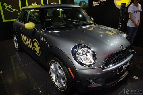 [新车解析]旗下首款电动车 Mini E车展亮相
