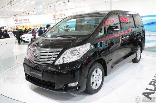 [新车解析]舒适性好 丰田Alphard将进口