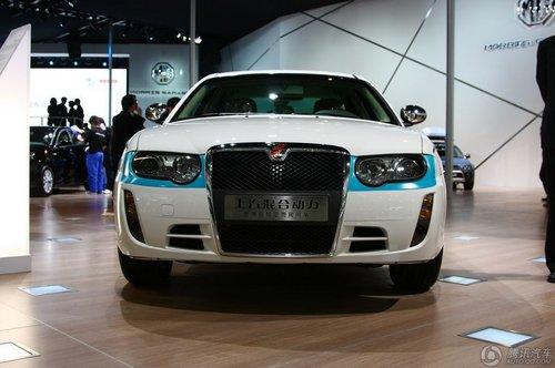 [新车解析]节能效率惊人 荣威750混合动力