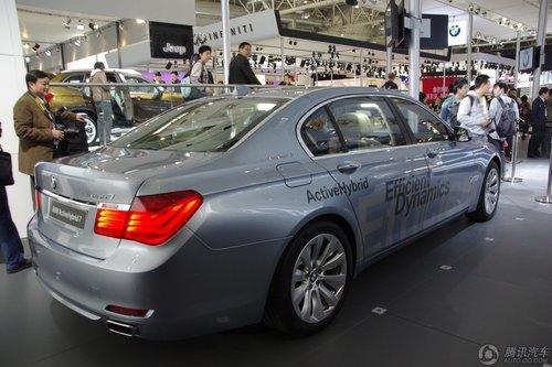 全新BMW混合动力7系