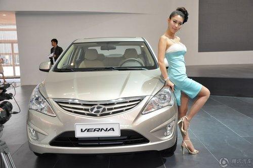 [新车解析]战略小车 现代Verna全球首发