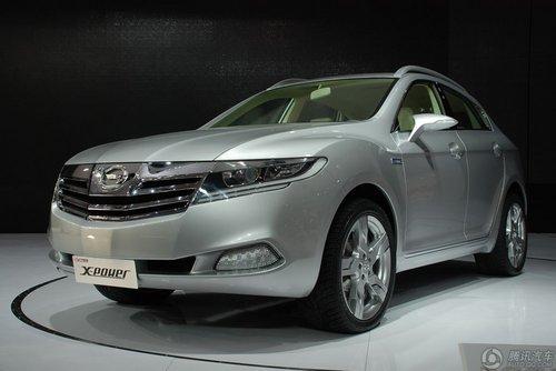 [新车解析]广汽X-Power SUV混动概念车