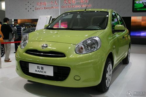 [新车解析]预计6万起 日产小车玛驰亮相