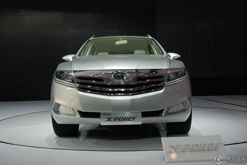 广汽x-power混合动力概念车