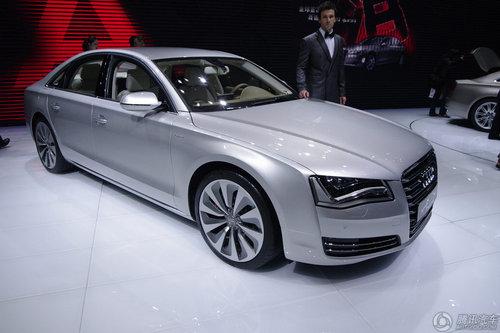 [新车解析]很快将量产 奥迪A8 Hybrid亮相
