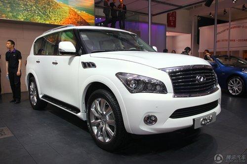 [新车解析]大排量豪华SUV 英菲尼迪QX56