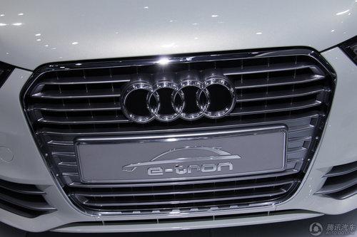 奥迪A1 e-tron电动车