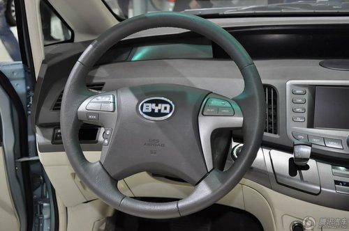 [新车解析]300公里续航 比亚迪E6电动车